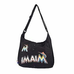 "MLB Miami Marlins ""Jersey"" Style Tote Messenger Bag/Purse"