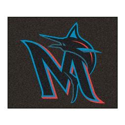 MLB - Miami Marlins Tailgater Rug 5'x6'