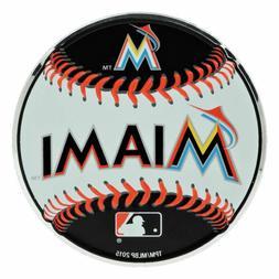 mlb officially licensed baseball miami marlins aluminum