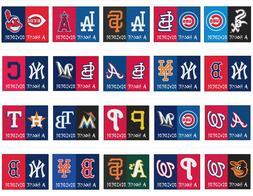 MLB Team House Divided Mat Area Rug - Choose Your Team