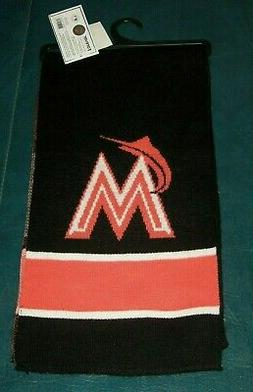 New Miami Marlins MLB Scarf by Forever Collectables - Genuin