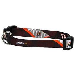 NEW MIAMI MARLINS PET DOG ADJUSTABLE NYLON COLLAR ALL SIZES