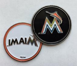 NEW MLB Miami Marlins Golf Ball Marker