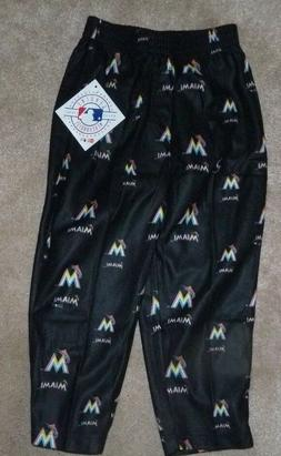 NEW MLB Miami Marlins Sleepwear Loungewear Pants 3T Toddler