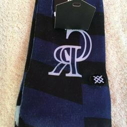 NWT Stance baseball socks, men's M, L, Colorado Rockies, Mia