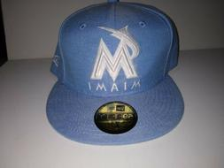 NWT Miami Marlins New Era 2019 Pastalin 59FIFTY Fitted Cap H