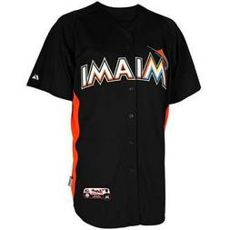 NWT Majestic Miami Marlins MLB Men's Cool Base Batting Pract