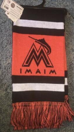 nwt miami marlins official mlb team scarf