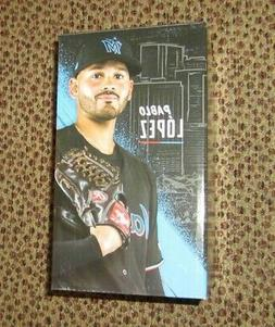 PABLO LOPEZ BOBBLEHEAD-NEW IN BOX-MIAMI MARLINS-SGA SEPT, 20