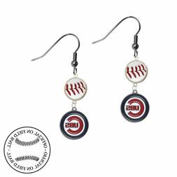 Pick Your Team - MLB Earrings Made w/ Authentic Official On