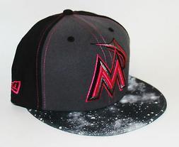PICK1 Miami Marlins Galaxy 9FIFTY New Era StrapBack SnapBack