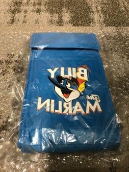 RARE SGA BILLY THE MARLIN LUNCH BOX INSULATED COOLER BAG BLU