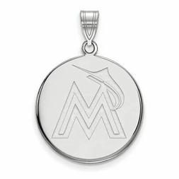 SS MLB  Miami Marlins Large Disc Pendant