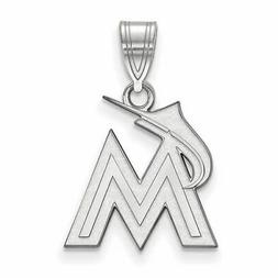 SS MLB  Miami Marlins Medium Pendant