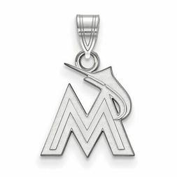 SS MLB  Miami Marlins Small Pendant
