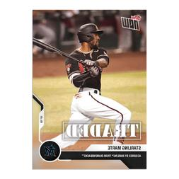 Starling Marte - MLB TOPPS NOW Card 186 - Marlins acquire fr