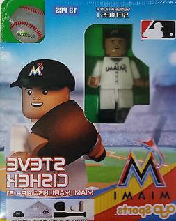 Steve Cishek OYO Miami Marlins MLB Mini Figure NEW G4
