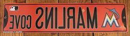 Street Sign Miami Marlins Cove MLB Lic Baseball full colorfu