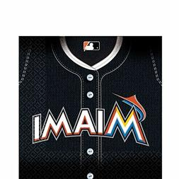 Amscan Sports & Tailgating MLB Party Miami Marlins Luncheon