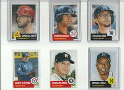 Topps Living Set Pick Your Player Complete Your Set Combined