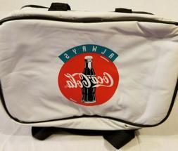 Vintage Coca Cola Florida Marlins Lunch Box Mini Cooler Pouc