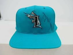 Wayne Huizenga Autograph Vintage Florida  Marlins Ball Cap H